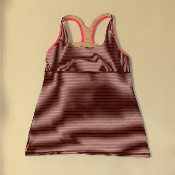 lululemon athletica Tops - Stylish Stripes! Size 8 Lululemon Tank